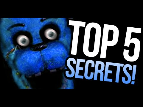 Thumbnail: TOP 5 HIDDEN SECRETS! - Five Nights At Freddy's (PARODY)