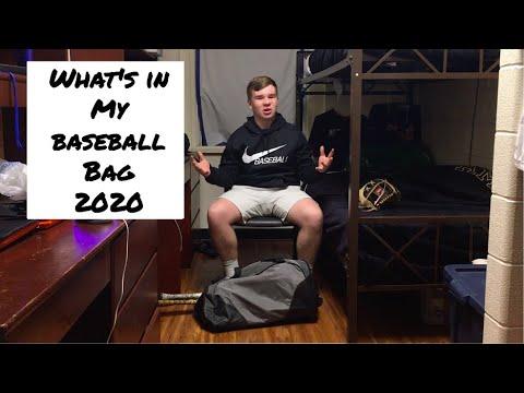 Whats In My Baseball Bag 2020?   High School Baseball Player