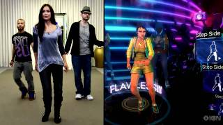 Kinect: Dance Central Full Motion Preview with Jessica Chobot(Kinect has a few promising titles in its launch lineup, and Dance Central from Harmonix is high on that list. Watch as Jessica Chobot and Ryan Clements tear up ..., 2010-09-01T00:37:58.000Z)