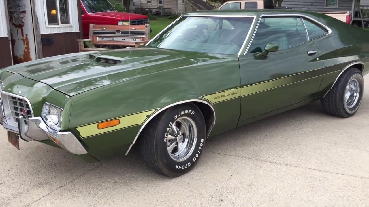 New Ford Gran Torino >> 1972 Ford Gran Torino Sport - YouTube