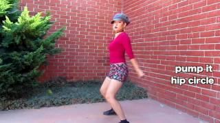 90s dance workout to push it by salt n pepa