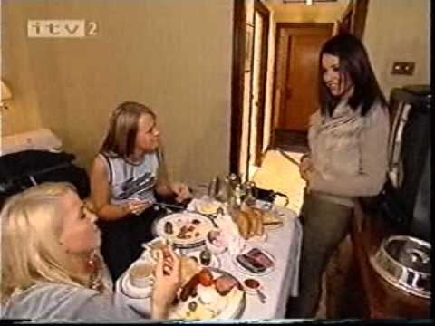 First Day As Girls Aloud Popstars The Rivals (Sarah Harding)