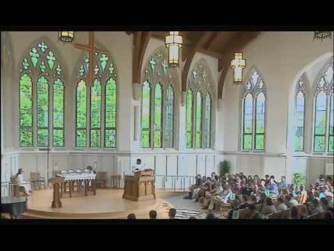 2016 Duke Divinity Orientation Sermon—Victor Greene