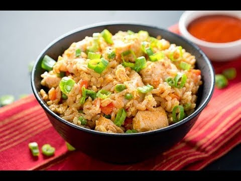 Pork Fried Rice - Chinese Recipes - Asian Recipe - Asian Cooking - Authentic Recipe - Fry Rice