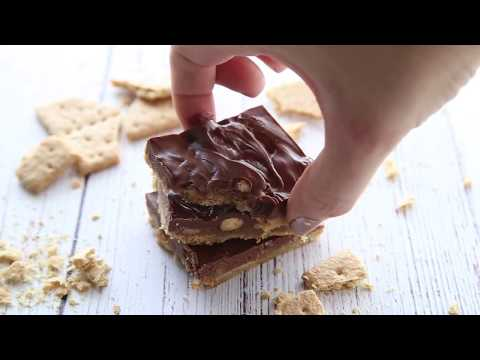 How to make Graham Cracker Toffee Bars