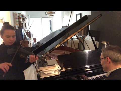 Yesterday Beatles Cover. Demo Ekaterina S., Violine + Christoph Pagel, Piano