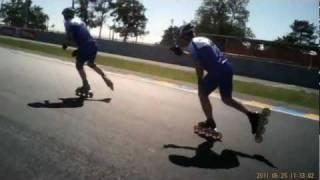 24h Skaten LeMans 2011 - Einführungsrunde