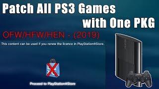 PS3 Multi PKG Games Renew License Bypass - Resigner Master Tool