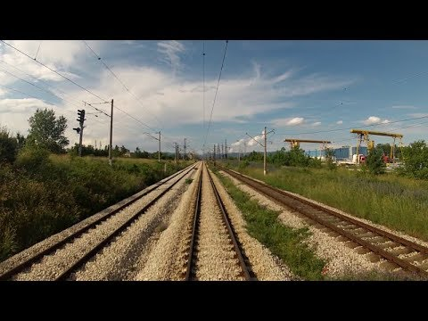 Bulgarian railways cab ride: Sofia - Iliyantsi - Stolnik (north rail link to the Sub-balkan railway)