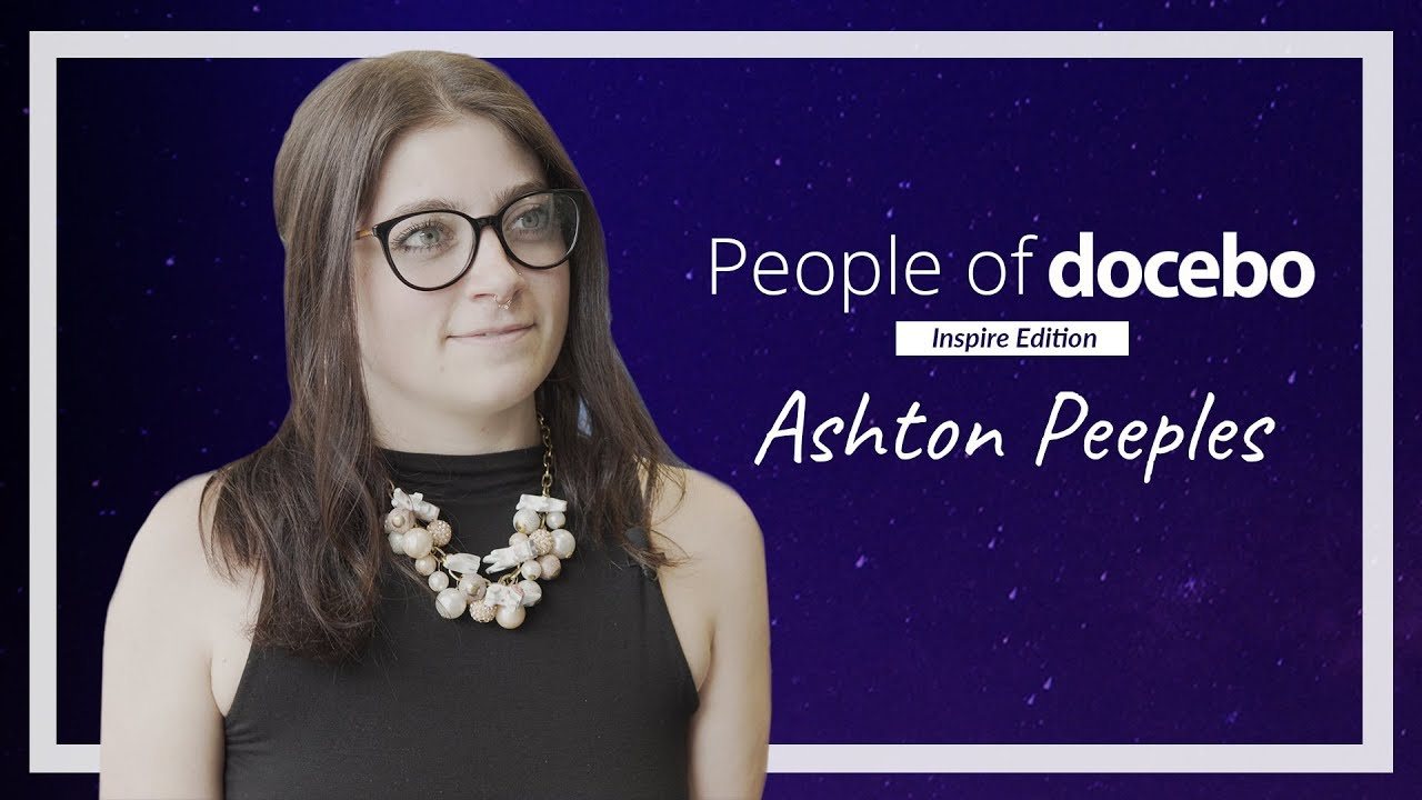 People of Docebo - Ashton Peeples