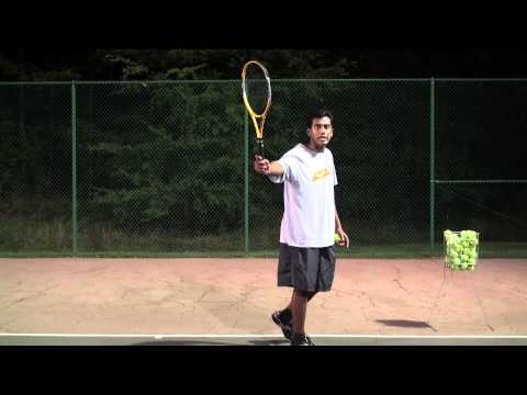 Tennis Backhand explained in Tamil