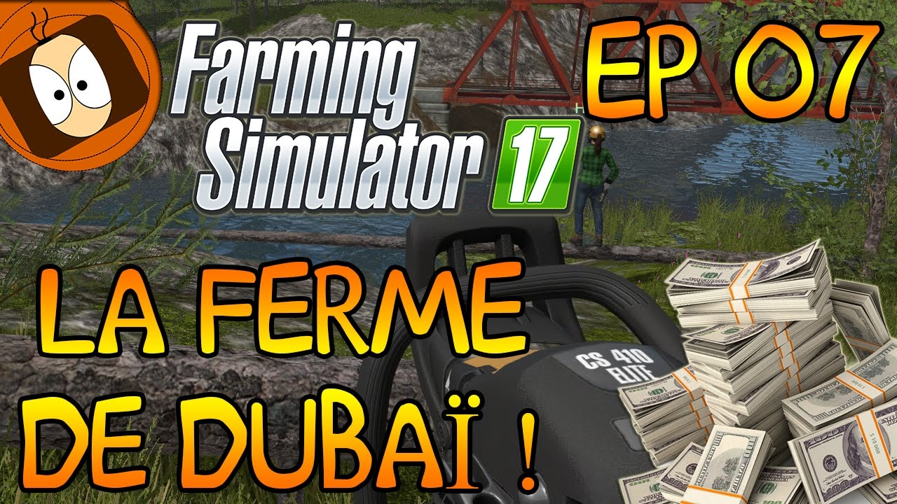 tronconneuse farming simulator 2017