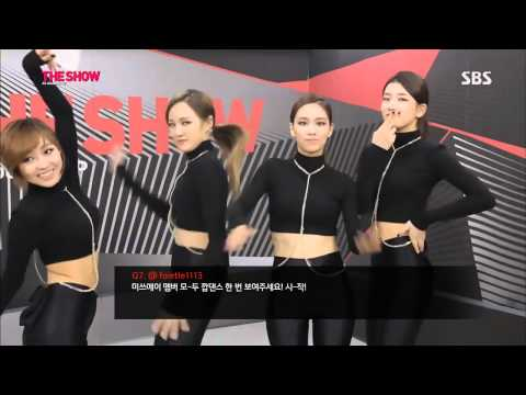 K POP miss A   Interview + Hush Comeback 20131126 HD