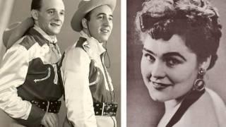 De twee Jantjes en Ria Roda - Vaarwel lieve cowboy ( 1953 )