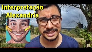 Significado de Alexandria, letra de Humberto Gessinger - no vídeo atribuo a Tiago Iorc - Desculpem!