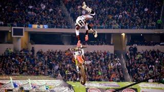 AMA Supercross 2013 | Zach bell huge crash (OFFICIAL)