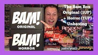 The BAM Box Original OG 1UP + The BAM Box Horror 1UP July 2018 Double Unboxing