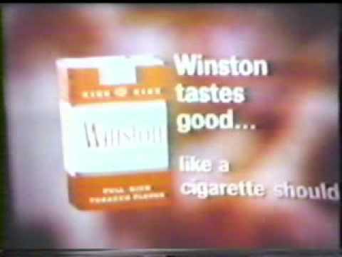 Winston Cigarette Commercial