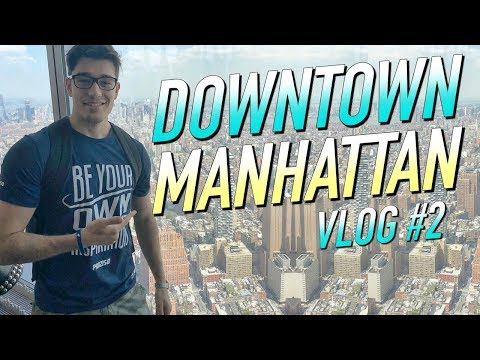 DOWNTOWN MANHATTAN y MIDTOWN COMICS - VLOG #2 NEW YORK