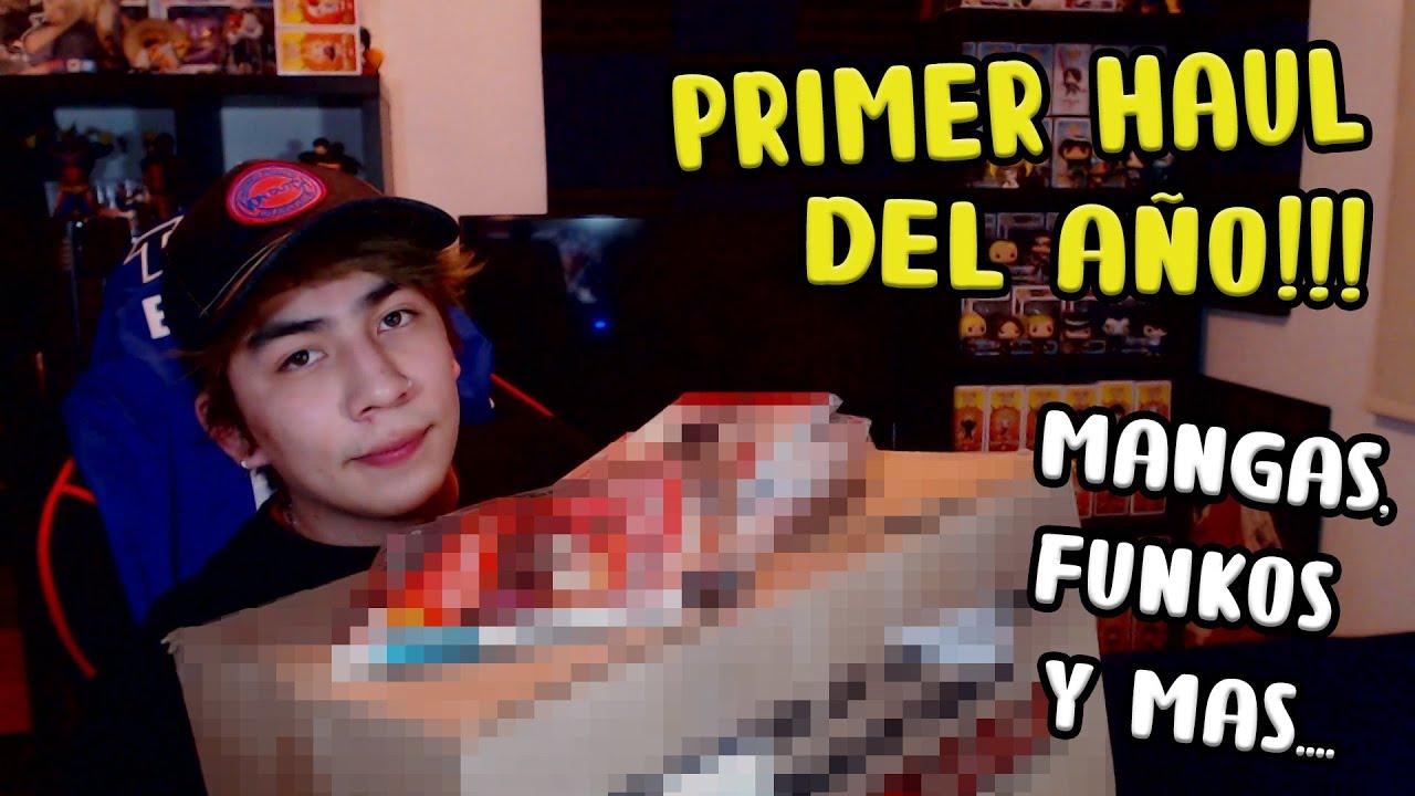 PRIMER HAUL DEL AÑO!!!-Mangas, Funkos y mas....