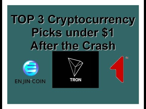 Top 3 Crypto Picks under $1 after the Crash (Episode 96)