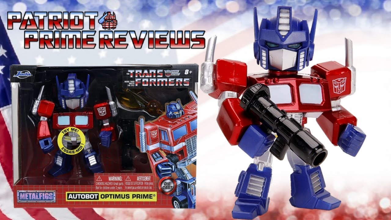 Patriot Prime Reviews Jada MetalFigs Optimus Prime