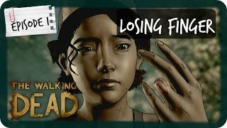 How Did Clem Lose her finger | The Walking Dead: A New Frontier | Episode 1