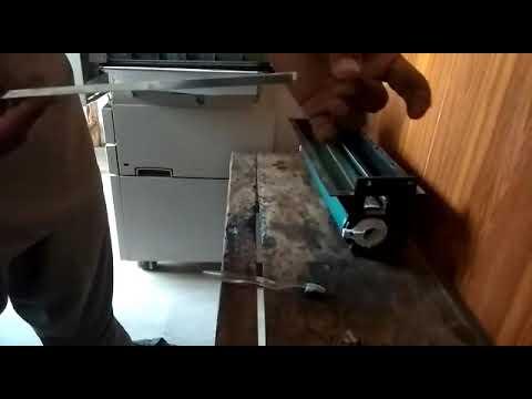 xerox 5855 drum cleaning