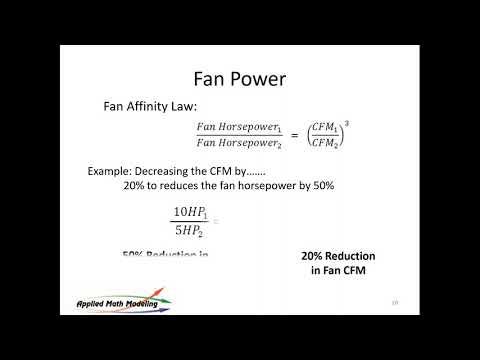 Reducing Data Center Energy Consumption Using VFDs