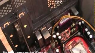 Демонтаж видеокарты  AGP из корпуса компьютера(Демонтаж видеокарты AGP 4x 8x 2x как вынуть видеокарту из корпуса, как снятьс материнской платы видеоадаптер...., 2011-03-23T21:36:13.000Z)