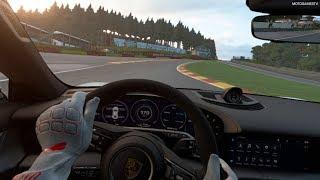 Gran Turismo Sport VR - Porsche Taycan Turbo S '19 Gameplay