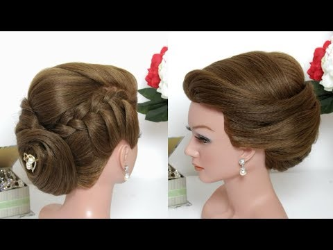 Tutorial: Wedding Updo Hairstyles For Long Hair