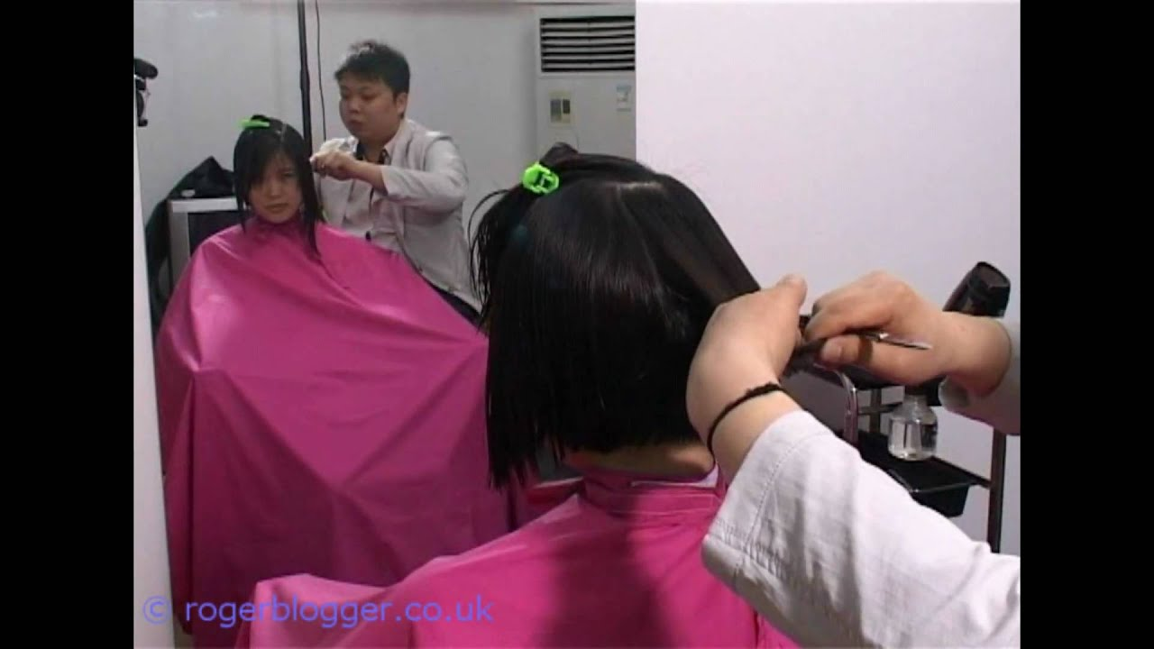 More 2nd Chinese Model BOB Hairstyle At