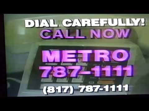 Vintage Cable TV VHS VCR Tape KTVT SuperOnes Secret word contest 1986