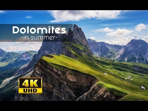Dolomites - Sdtirol, Alto Adige, South Tyrol 4k