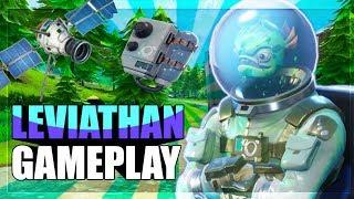 "New Fortnite Fish ""LEVIATHAN"" Skin Gameplay"