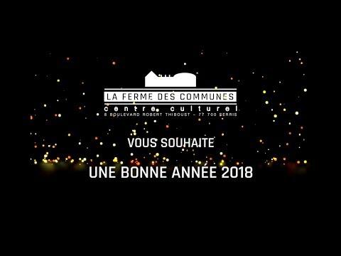 """""""La Ferme des Communes vous présente ses meilleurs vœux pour 2018 !"""": <a href=""""https://t.co/9tEI70h2yy"""" target=""""_blank"""">youtu.be/Y-kYbwRlMKw?a</a> via <a href=""""https://twitter.com/YouTube"""" target=""""_blank"""">@YouTube</a>"""