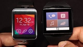 Smartwatch SHOWDOWN! Battle! Samsung Gear 2 vs Qualcomm Toq FIGHT!