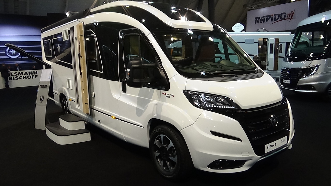 2017 niesmann bischoff smove fiat ducato exterior and interior caravan show cmt stuttgart. Black Bedroom Furniture Sets. Home Design Ideas