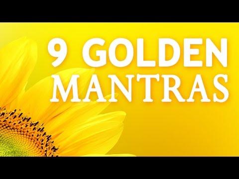 9 GOLDEN MANTRAS | 108 Times