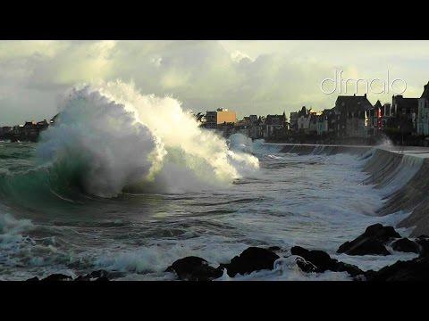 Saint-Malo Grande Marée 2016 Hightide Springflut Nov 2016