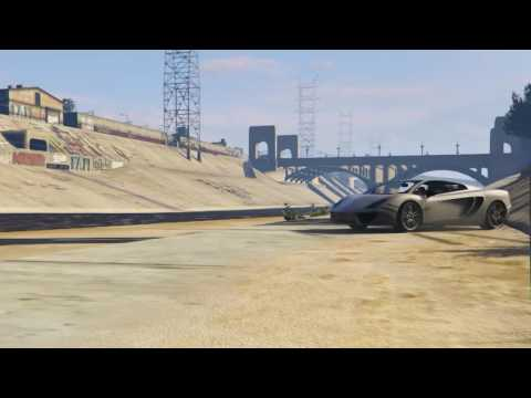GTA V (PC) awesome stunt jump