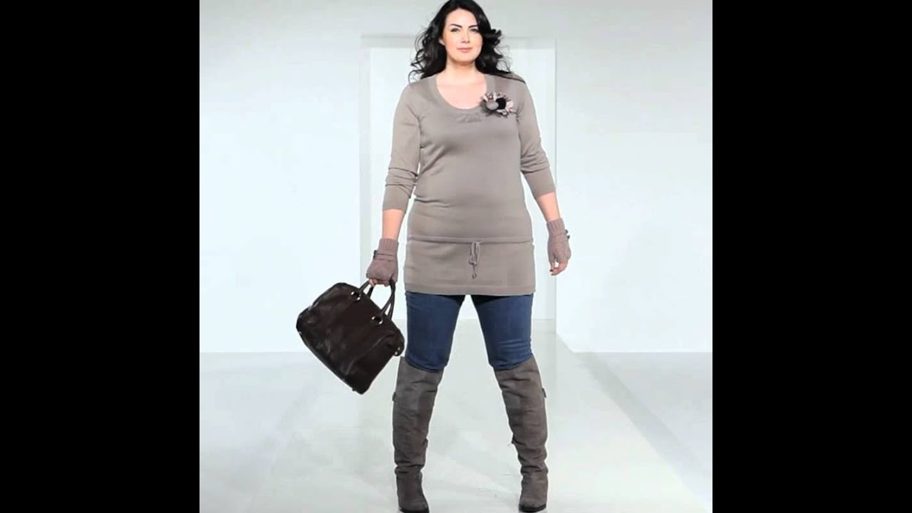 Plus size tunic, Plus size jeans, Wide fitting boots - YouTube