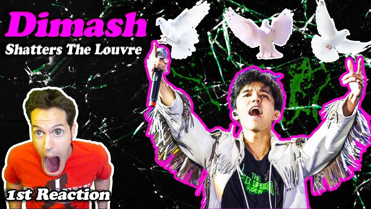 Dimash - FIRST REACTION (Dimash Having Fun With Voice)