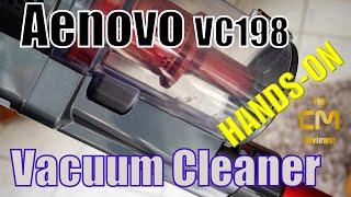 ernovo VC198 Test : Vacuum Cleaner - Stabstaubsauger mit Akku - Hand...
