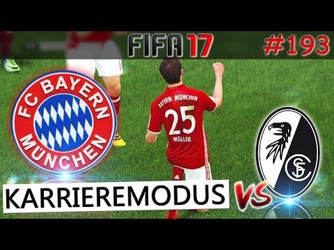 FC Bayern München vs SC Freiburg (Fifa 17 Karrieremodus #193) -Deutsch-