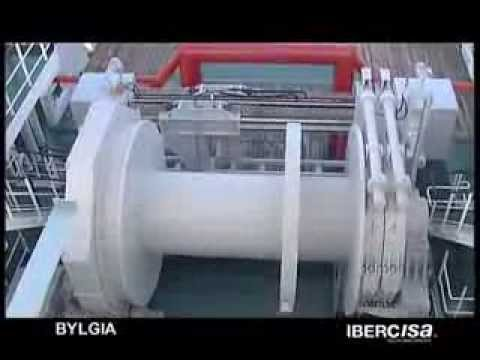 IBERCISA delivers an AHT towing winch for the BYLGIA built a