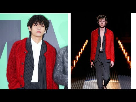 BTS VS. Fashion Models - Outfits  (Who Looks Better?)