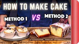 2 Easy Ways to Make Cake Like a Chef