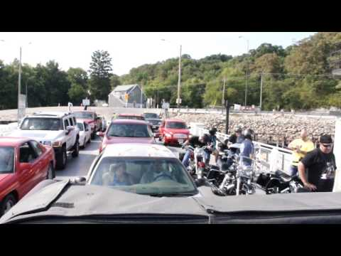 Great River road part 2 Ferry ride